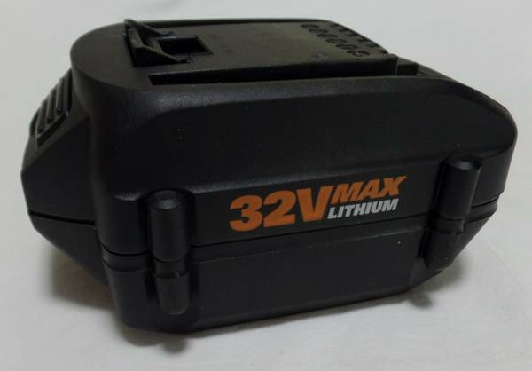 Photo WORX WA3537 32V 2.0 Ah Lithium Replacement Battery. Works great - $20 (Martinez)