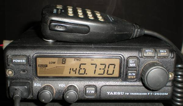 Photo Yaesu FT-2500M Transceiver with Yaesu MH-27 Microphone Ham Radio - $100