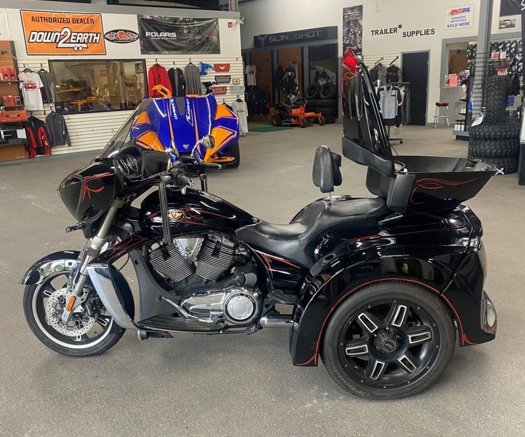 Photo Used 2010 Victory Motorcycles Trike Motorcycle  $15995
