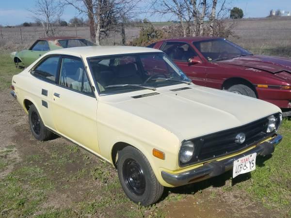 Photo 1973 datsun 1200 sunny driver  parts car 510 rx3 240z rotary ae86 - $7500 (Hutto)
