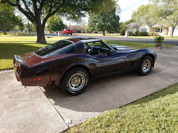 Photo 1982 Chevrolet Corvette Coupe - $29900 (Kyle)
