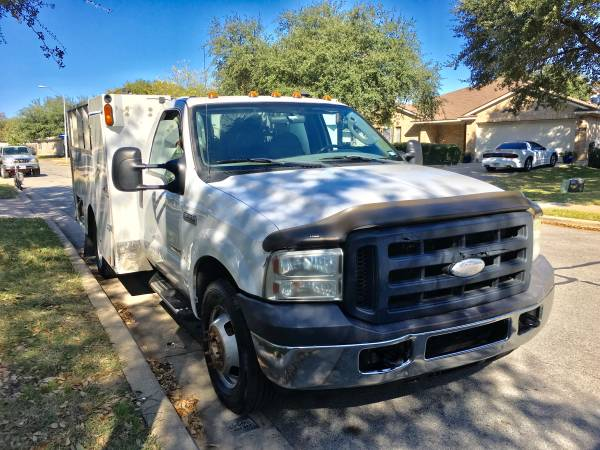 Photo 2006 Ford F350 utility bed - $6,900 (Pflugerville)