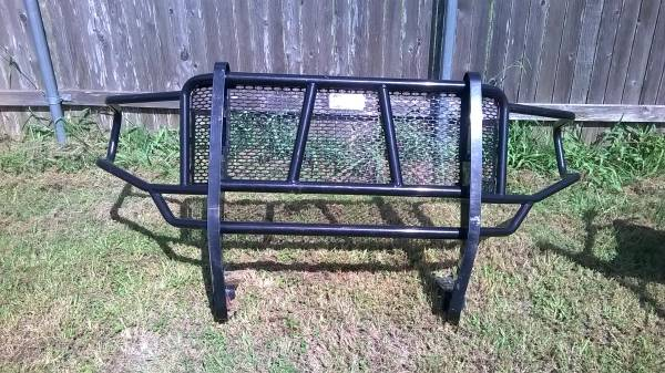 Photo 2009 to 2014 Ford F150 Ranch Hand Brush Guard  Push Bar  Needs Work - $100 (Manor, Tx 290 East. In Manor, go 3 Miles South of 290E)