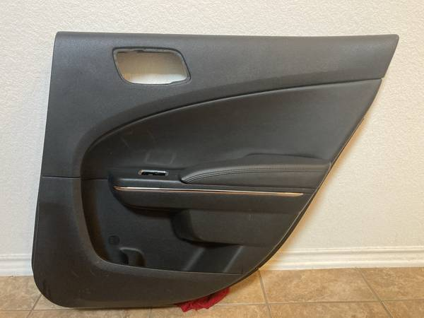 Photo 2011 - 2014 Dodge Charger Rear Passenger Door Panel, Black - $50 (Austin)