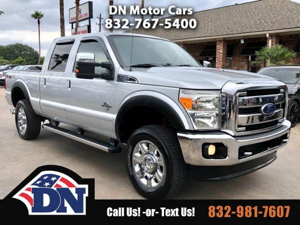 Photo 2012 Ford Super Duty F-250 Truck F250 Lariat Crew Cab Short Bed 4WD - $23995 (2012 Ford Super Duty F-250)