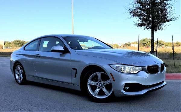 Photo 2014 BMW 428i 2dr Coupe 2.0L I4 Turbocharger - $18,495 (Austin)