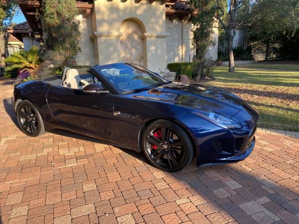 Photo 2014 F-Type Jaguar super charged - $42,000 (Austin)