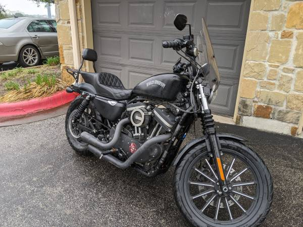 Photo 2015 HD Sportster Iron 883 - Over $5k in parts - $7,850 (Brooklyn)