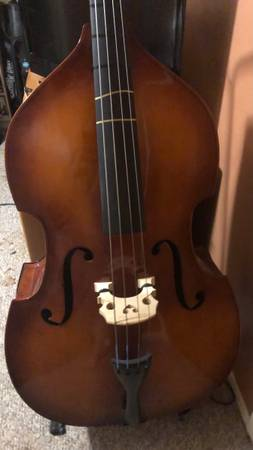 Photo 34 Size Upright Johannes Kohr Double Bass - $1,100 (Round Rock)