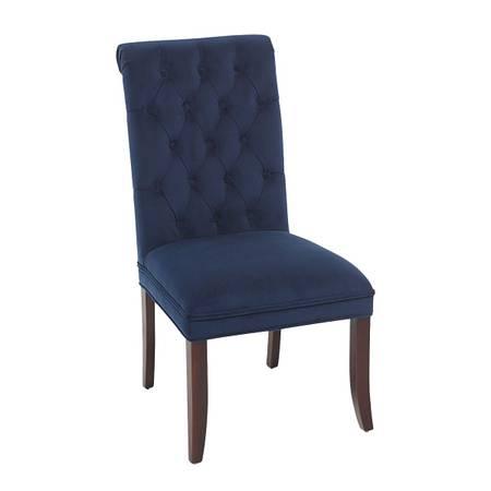 Photo 4 Pier 1 New Audrey Velvet Dining Chairs - $500 (Buda)