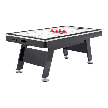 Photo Airzone Air Hockey Table with High End Blower, 80quot, Black and Chrome - $375 (Austin)