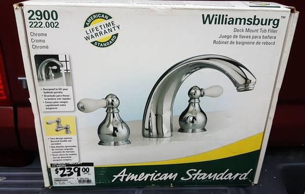 Photo American Standard tub filler, new - $55 (Round Rock)
