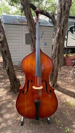 Photo Augusto Antonio Strad Model 55 34 Stand Up Bass - $1,950 (Lakeway)