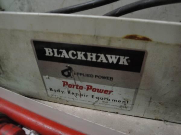 Photo Blackhawk Porto-Power 4 Ton Body Repair Equipment - $125 (Round Rock)