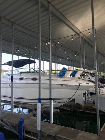 Photo Boat Lift  Dock Box  Slip - $1000 (Volente)
