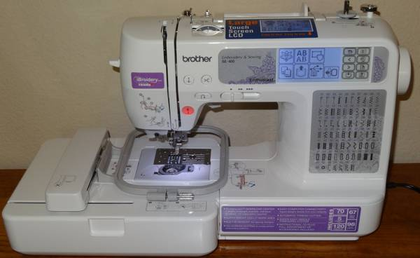 Photo Brother SE400 Combination Sewing and Embroidery Machine - $275 (Pflugerville)