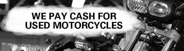 Photo Cash Paid for Clean Motorcycles - $1,000 (Austin)