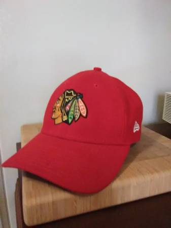 Photo Chicago Blackhawks Stanley Cup Finals 2015 Cap and Beanie - Like New - $10 (Hyde Park)
