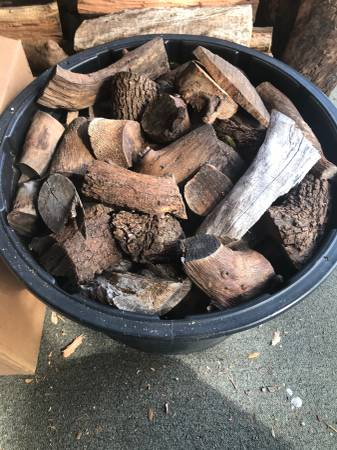 Photo Chiminea  Pit Fire Firewood - $15 (NW Austin)