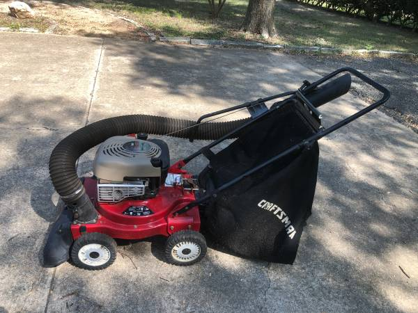 Photo Craftsman 6.5 hp 4-in-1 Chipper Shredder Yard Vacuum - $320 (Southwest Austin)