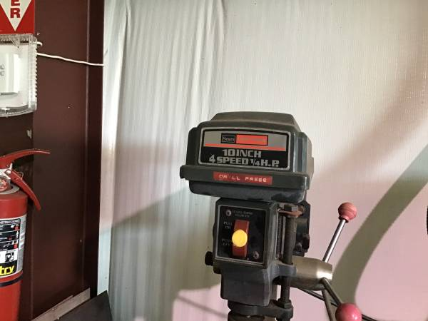 Photo Craftsman Bench Drill Press - $150