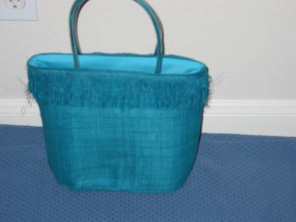 Photo Cute Aqua Blue Bag - New - $10 (cedar park)