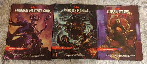 Photo Dungeons And Dragons 5e Books - $25 (West Cus)