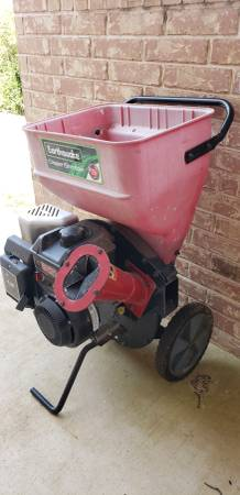 Photo Earthquake 9060300 Chipper Shredder with 205cc 4-Cycle Briggs engine - $400 (Austin)