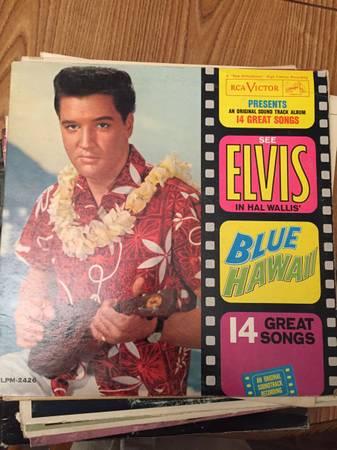 Photo Elvis Blue Hawaii RCA Victor High Fidelity Recording Vinyl Album - $10 (Great Hills183)