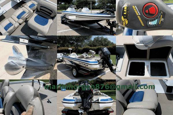 Photo Excellent NITRO BOAT - $1600 (Flower Mound)