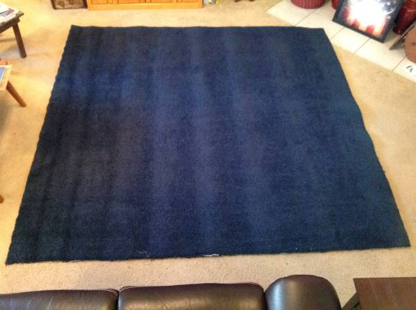 Photo Free Large Navy Carpet Remnant (SW Austin  Travis Country)
