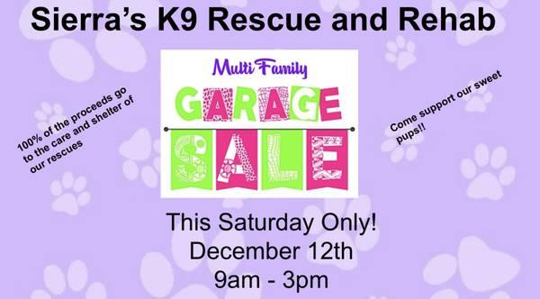 Photo Fundraiser Garage Sale (San Antonio)