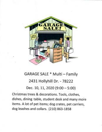 Photo Garage Sale - Multi Family (SAN ANTONIO)