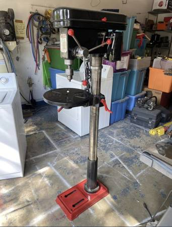 Photo Guardian Power heavy duty drill press - 16 speed. - $595 (Round Rock)