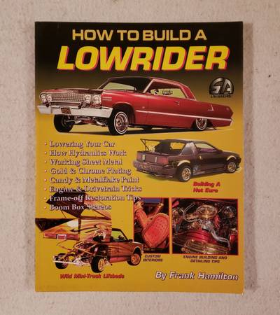 Photo How To Build A LOWRIDER Book - $75 (Austin)