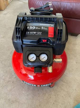 Photo Porter Cable Compressor Roofer (less than year old) - $100 (Cedar Park)