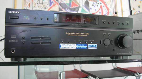 Photo SONY STR-DE597 Surround Sound Home Theater 5.1 channel AV Receiver - $125 (Anderson Mill near RM 620)