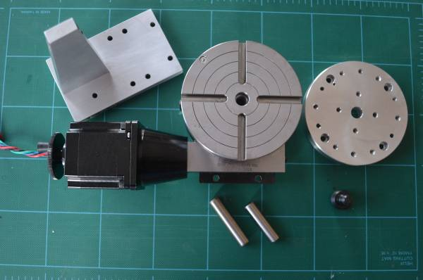 Photo Sherline CNC Rotary Table plus Accessories - $350 (Hudson Bend near Lakeway)