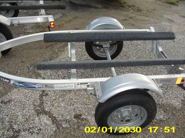 Photo Single Jet Ski PWC Trailer Aluminum 1450 - $1,450 (Lake Texoma Texas)