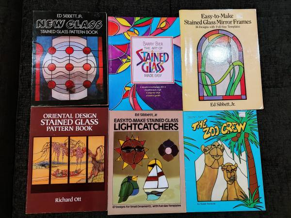 Photo Stained Glass, Assorted Pattern Books (Bundle) - $125 (TAYLOR)