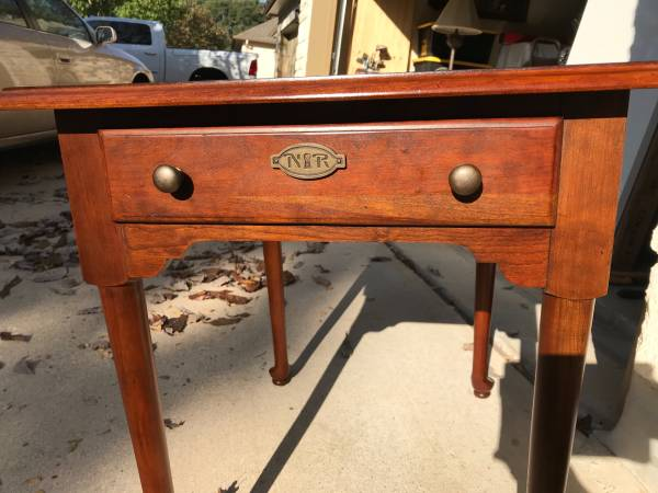 Photo Stanley Norman Rockwell Collection Side Table - $60 (North Austin)