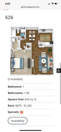 Photo Sublease Apartment at Far west (Austin)