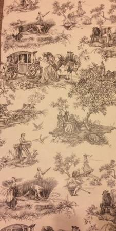 Photo Thibaut wallpaper French Toile 11 Double rolls EACH $40 - $40 (Mopac and Parmer)