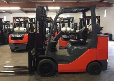 Photo Toyota Forklift Two Stage