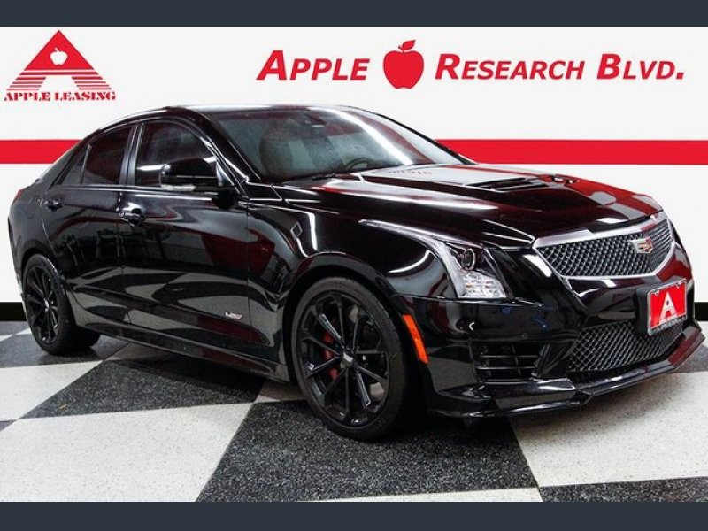 Photo Used 2016 Cadillac ATS V Sedan w Luxury Package for sale