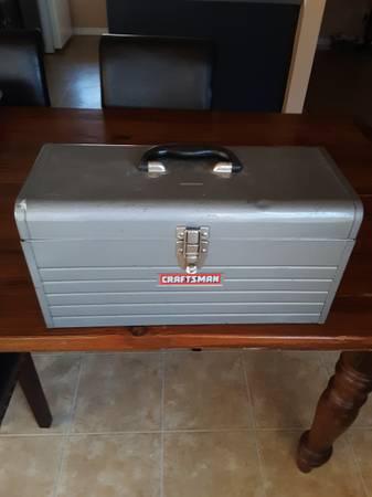 Photo Vintage Craftsman Tool Box 18quotx 8quotx 9quot Flip Lid, No Tray - $65 (South Austin)
