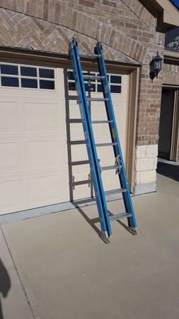 Photo Werner 16 ft. Fiberglass Extension Ladder - $100 (Georgetown)