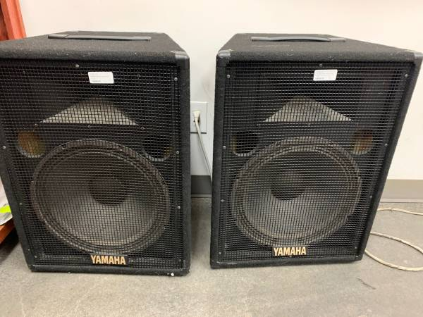 Photo Yamaha speakers - $350 (Pflugerville)