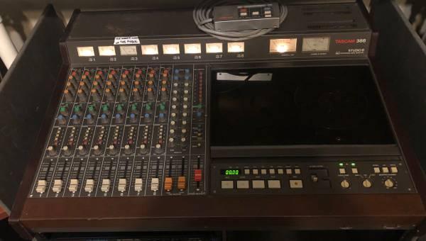 Photo Tascam 388 w Extras (Read Description) - $2200 (Austin)