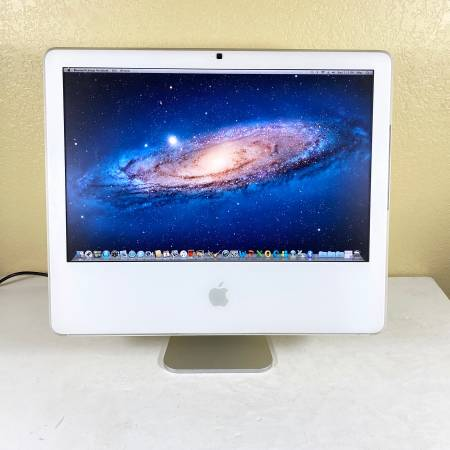 Photo iMac (20-inch, Late 2006) OS X Lion - iLife 3911 - MS Office 2011 - $100 (Round Rock)